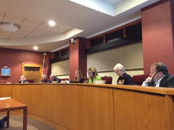 School Board Meeting at City Hall